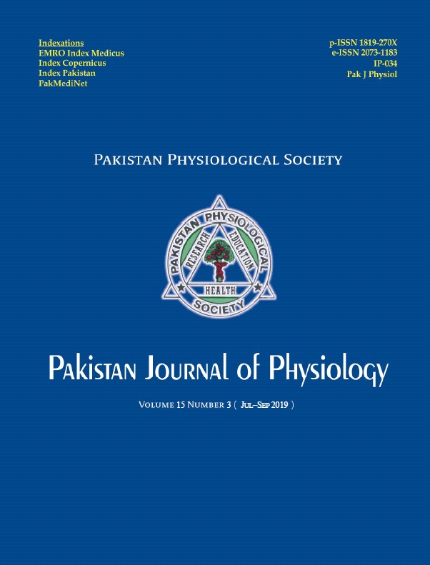 Pak J Physiol